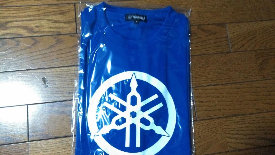 ヤマハTシャツ ブルー